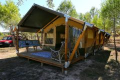 Safari tent overview